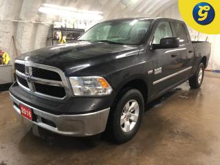 Used 2016 RAM 1500 SXT * Crew Cab * 4X4 * 5.7 L HEMI * U connect touchscreen * Reverse camera * Power windows/mirrors * Voice recognition * Phone connect * Second row in for sale in Cambridge, ON