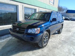 Used 2002 Toyota Highlander 4dr V6 4WD for sale in St-Jérôme, QC