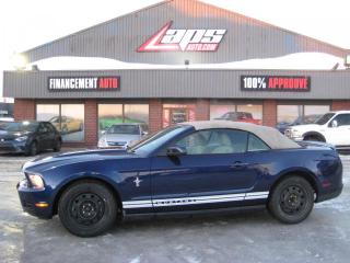 Used 2010 Ford Mustang ***CONVERTIBLE*** for sale in Ste-Catherine, QC