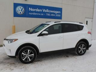 Used 2018 Toyota RAV4 LE AWD - BLUETOOTH / REVERSE CAMERA / HEATED SEATS for sale in Edmonton, AB
