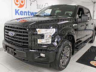 Used 2017 Ford F-150 XLT FX4 off road pkg, NAV, heated power leather seats, keyless entry for sale in Edmonton, AB