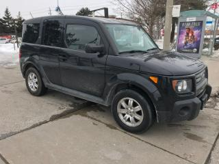 Used 2008 Honda Element EX,AWD,S/R,SAFETY+3YEARS WARRANTY INCLUDED for sale in Toronto, ON