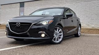 Used 2015 Mazda MAZDA3 GT| SINGLE OWNER| NAV| BACKP CAM| LEATHER for sale in Mississauga, ON