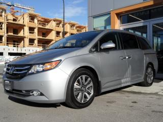Used 2016 Honda Odyssey Touring for sale in North Vancouver, BC