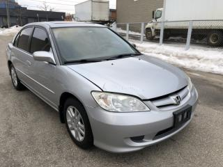 Used 2005 Honda Civic LX-G I Auto for sale in Toronto, ON