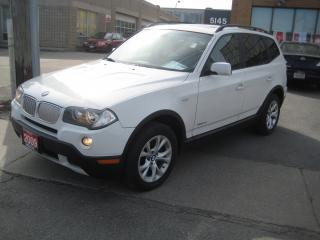 Used 2009 BMW X3 xDrive30i/PREMIUM  EXECUTIVE/ PACKAGE for sale in North York, ON