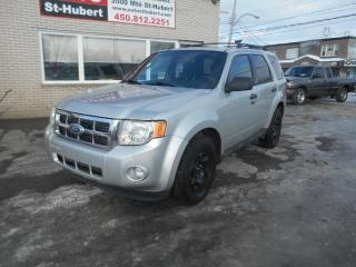 Used 2011 Ford Escape XLT AWD for sale in St-Hubert, QC