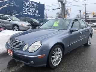 Used 2006 Mercedes-Benz E-Class 3.5L 4MATIC for sale in Toronto, ON