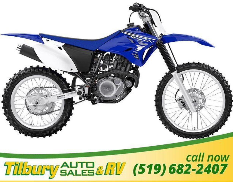 2019 Yamaha TT-R230 A peppy, air-cooled, 223 cc, SOHC, 2-valve