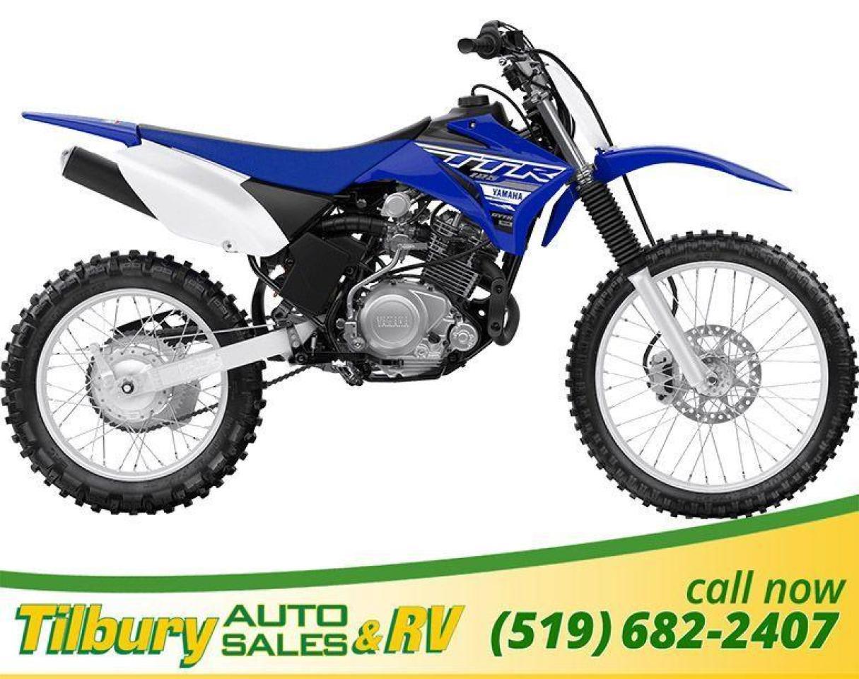 2019 Yamaha TT-R125LE Potent, air-cooled, 124cc, SOHC, 2 valve, 4-stroke