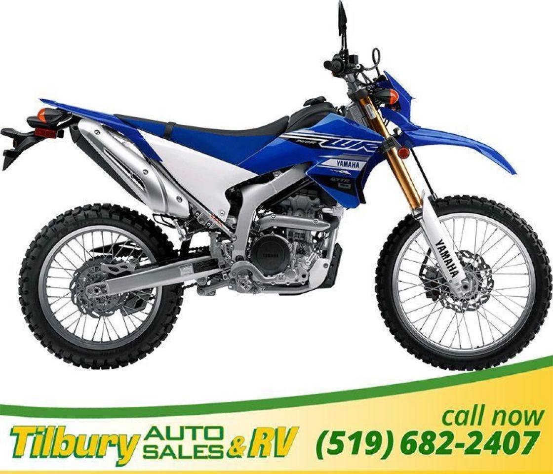 2019 Yamaha WR250R Potent, liquid-cooled, 250cc, DOHC, 4-valve