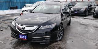Used 2015 Acura TLX SH AWD NAVI LEATHER SUNROOF for sale in BRAMPTON, ON