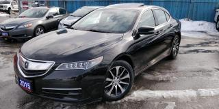 Used 2015 Acura TLX NAVI LEATHER SUNROOF for sale in BRAMPTON, ON