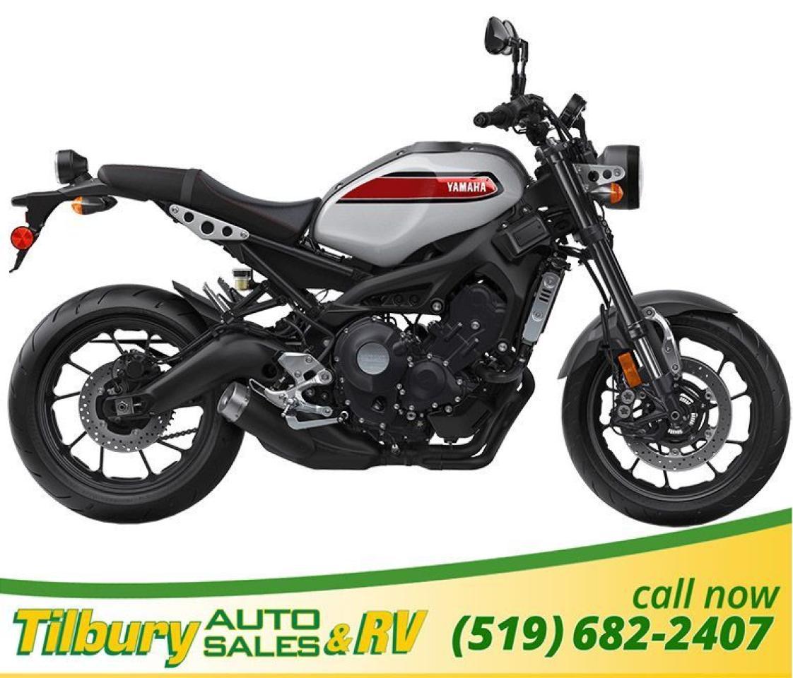 2019 Yamaha XSR900 Liquid-cooled, 847 cc inline 3-cylinder