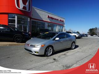 Used 2006 Honda Civic Si - FAST AND FUN - GREAT PRICE - SPOILER - Standard for sale in Bridgewater, NS