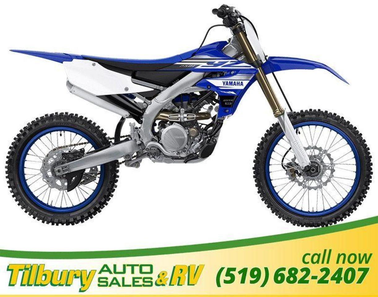 "2019 Yamaha YZ250F ""Reversed"" liquid-cooled, 250cc, DOHC, 4-valve"