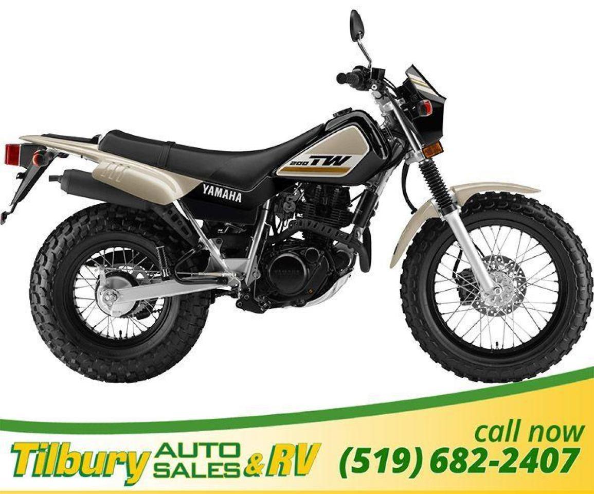 2019 Yamaha TW200E Super reliable, 196cc, air-cooled, SOHC