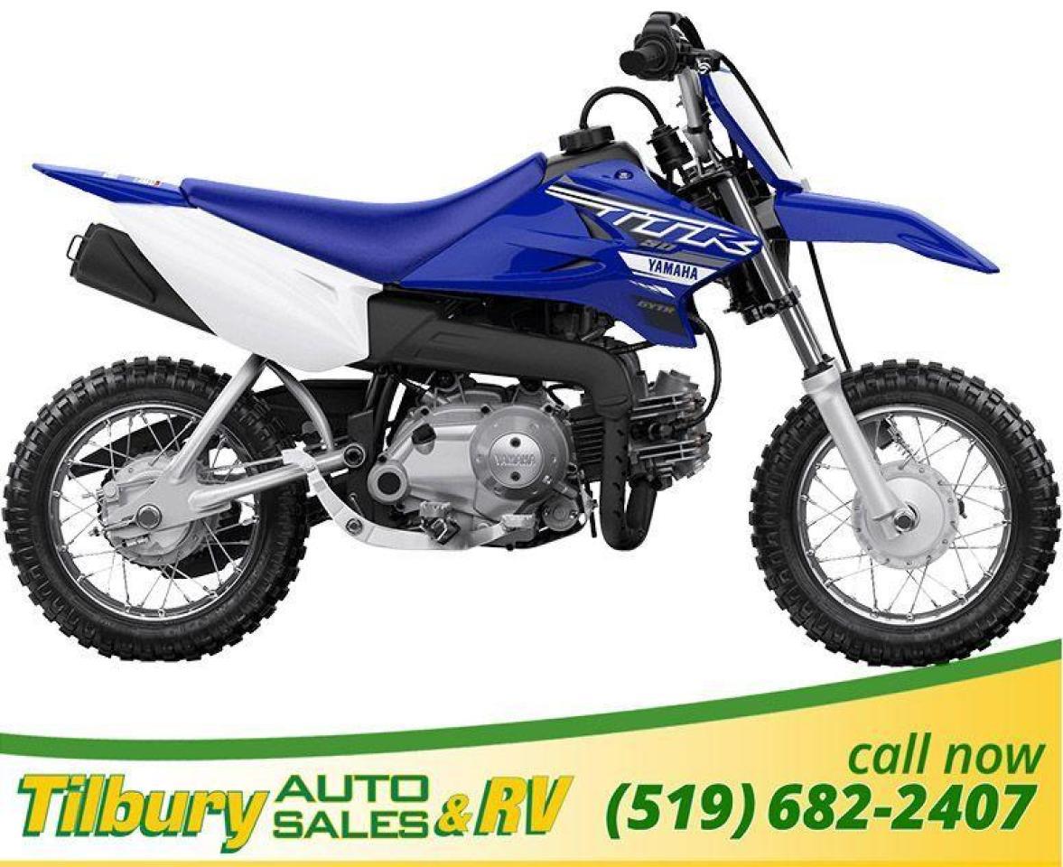 2019 Yamaha TT-R50E Air-cooled, 50cc, SOHC, 2-valve, 4-stroke