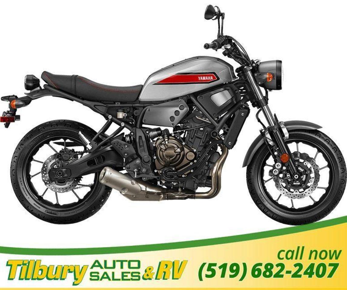 2019 Yamaha XSR700 Liquid-cooled, 689cc in-line twin cylinder