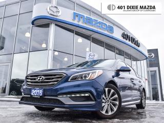 Used 2016 Hyundai Sonata Sport Tech|NO ACCIDENTS|PANOROOF|NAVI|BACKUPCAM for sale in Mississauga, ON