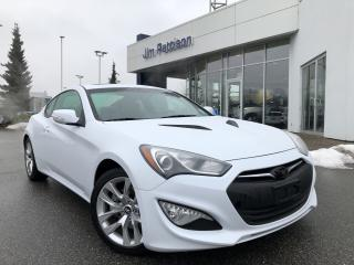 Used 2014 Hyundai Genesis Coupe 2.0T Premium with Navi, Leather Seats BC Vehicle for sale in North Vancouver, BC