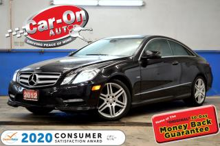 Used 2012 Mercedes-Benz E-Class E 350 PREMIUM LEATHER NAV PANO ROOF REAR CAM for sale in Ottawa, ON