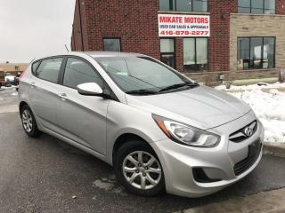 Used 2012 Hyundai Accent GL for sale in Rexdale, ON