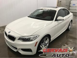 Used 2017 BMW 2 Series 230i Xdrive M Package for sale in Trois-Rivières, QC