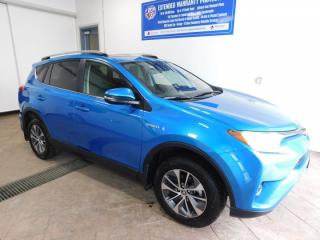 Used 2018 Toyota RAV4 Hybrid LE+ LEATHER SUNROOF for sale in Listowel, ON