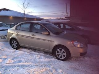 Used 2009 Hyundai Accent Berline 4 portes, boîte automatique - L for sale in Valcourt, QC