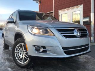 Used 2009 Volkswagen Tiguan HIGHLINE, AUTOMATIQUE, 4 MOTION, CUIR, for sale in Drummondville, QC