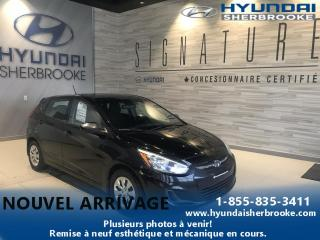 Used 2014 Hyundai Accent GL + AIR CLIM + SIÈGES CHAUFFANT for sale in Sherbrooke, QC