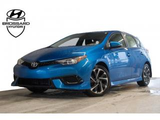 Used 2017 Toyota Corolla iM Cruise, A/c for sale in Brossard, QC