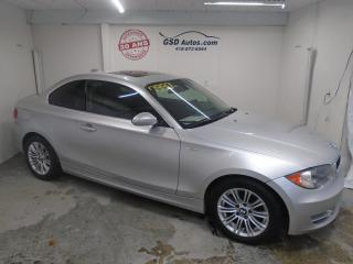 Used 2008 BMW 1 Series 128 i for sale in Ancienne Lorette, QC