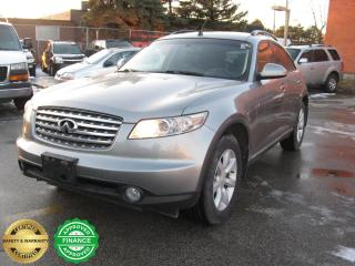 Used 2004 Infiniti FX35 for sale in Toronto, ON