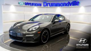 Used 2016 Porsche Panamera 4 EDITION + GARANTIE + PREMIUM + MAGS 20 for sale in Drummondville, QC