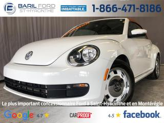 Used 2016 Volkswagen Beetle 2DR CONV for sale in St-Hyacinthe, QC