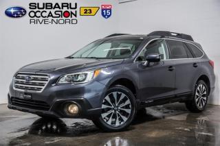 Used 2016 Subaru Outback 3.6R Ltd for sale in Boisbriand, QC