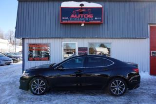 Used 2015 Acura TLX Teck Pkg Sh-Awd V-6 for sale in Lévis, QC