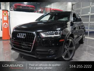 Used 2015 Audi Q3 TECHNIK|QUATTRO|SPORT PACK|NAVI|BOSE| for sale in Montréal, QC