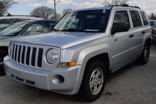 Used 2008 Jeep Patriot SPORT for sale in Sarnia, ON