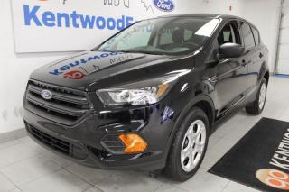 Used 2019 Ford Escape 3 Mos Deferral! *oac | S FWD-all black e'rything | Reverse Camera for sale in Edmonton, AB