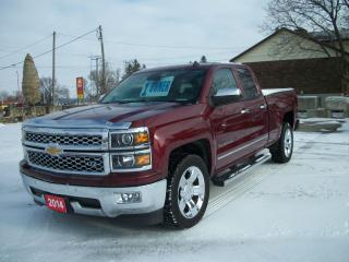 Used 2014 Chevrolet Silverado 1500 LTZ w/1LZ for sale in Stratford, ON