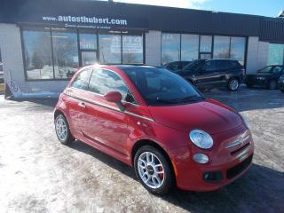 Used 2015 Fiat 500 SPORT **TOIT PANO** for sale in St-Hubert, QC