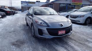 Used 2013 Mazda MAZDA3 GX/CERTIFIED/$6500 for sale in Brampton, ON