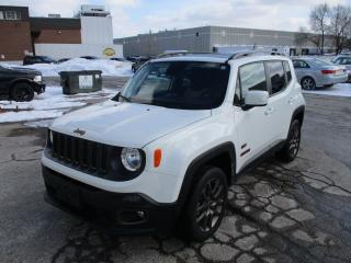 Used 2016 Jeep Renegade 75th Anniversary~NAV.~4x4~T-TOP~CERTIFIED for sale in Toronto, ON