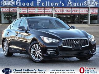 Used 2015 Infiniti Q50 6 CYL 3.7 LITER, AWD, LEATHER SEATS, SUNROOF for sale in Toronto, ON