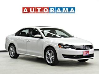 Used 2014 Volkswagen Passat 1.8 TSI COMFORTLINE LEATHER SUNROOOF for sale in Toronto, ON