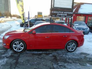 Used 2014 Chevrolet Cruze 2LT / RS / LOADED / LEATHER / REVERSE CAM / ALLOYS for sale in Scarborough, ON