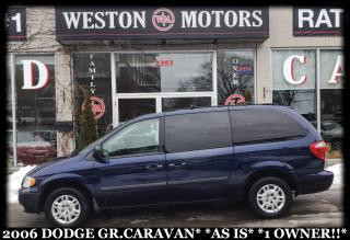 Used 2006 Dodge Grand Caravan AS IS* 1 OWNER!!* for sale in Toronto, ON